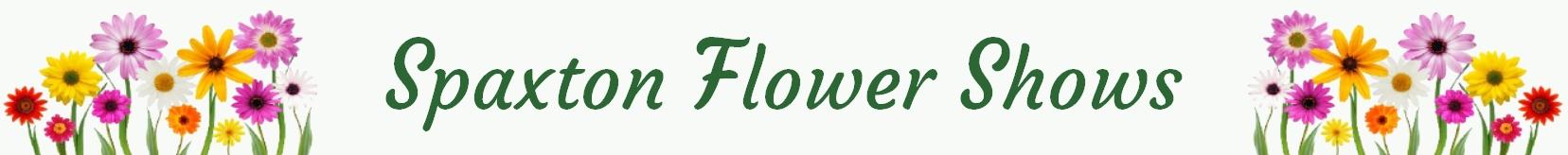 Spaxton Flower Show header logo